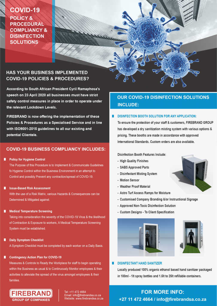 Covid-19 Disinfection Solutions